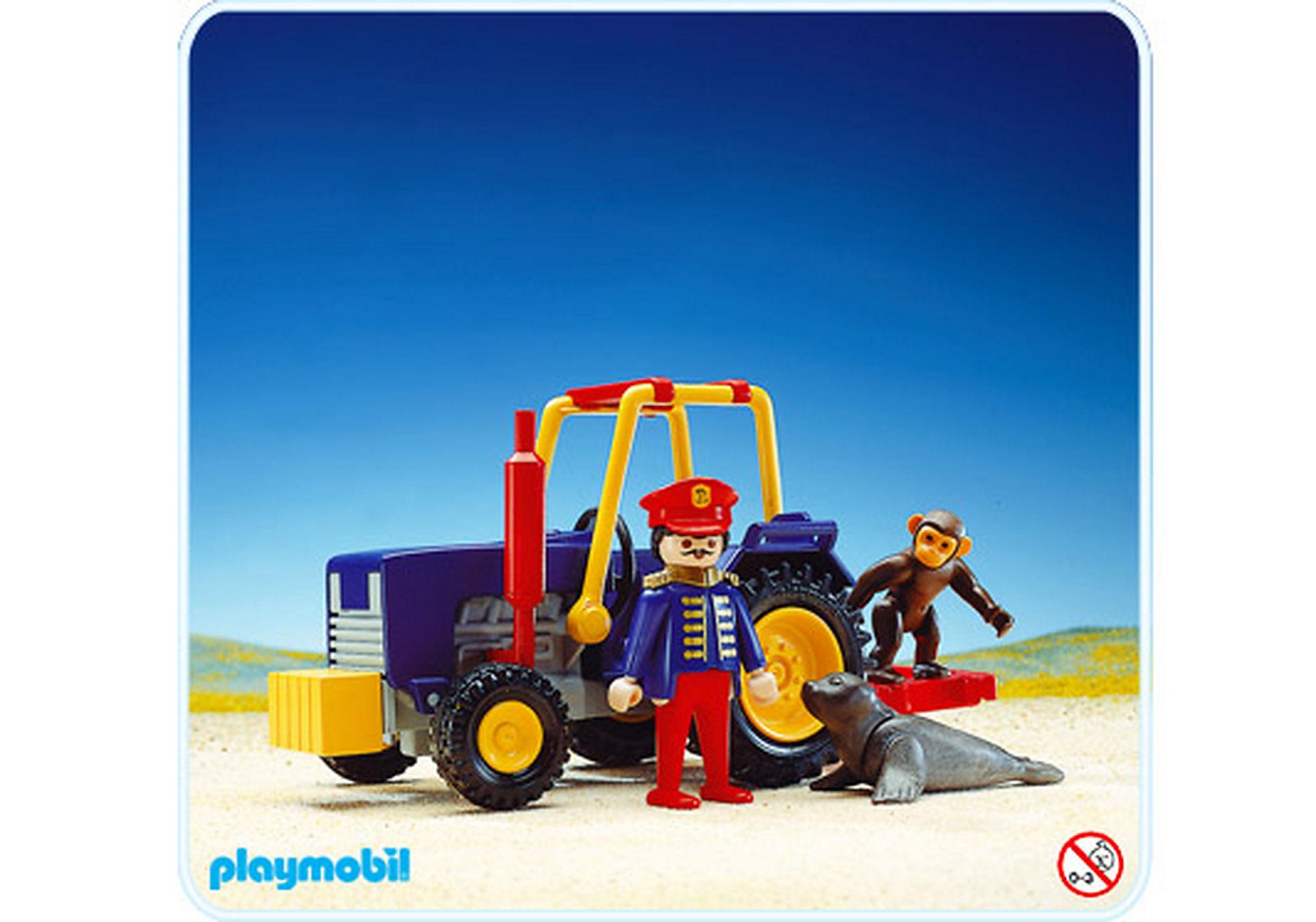 3734-A Tracteur de cirque zoom image1