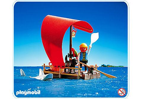3736-A Pirat/Floß/Hai detail image 1