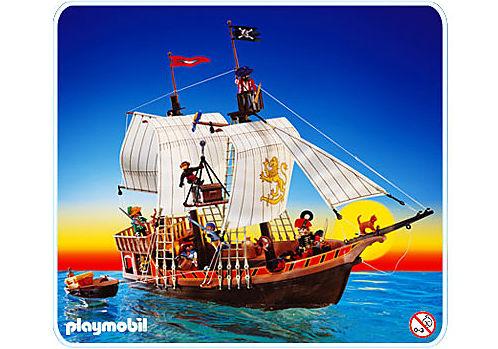 3750-A Bateau pirate detail image 1