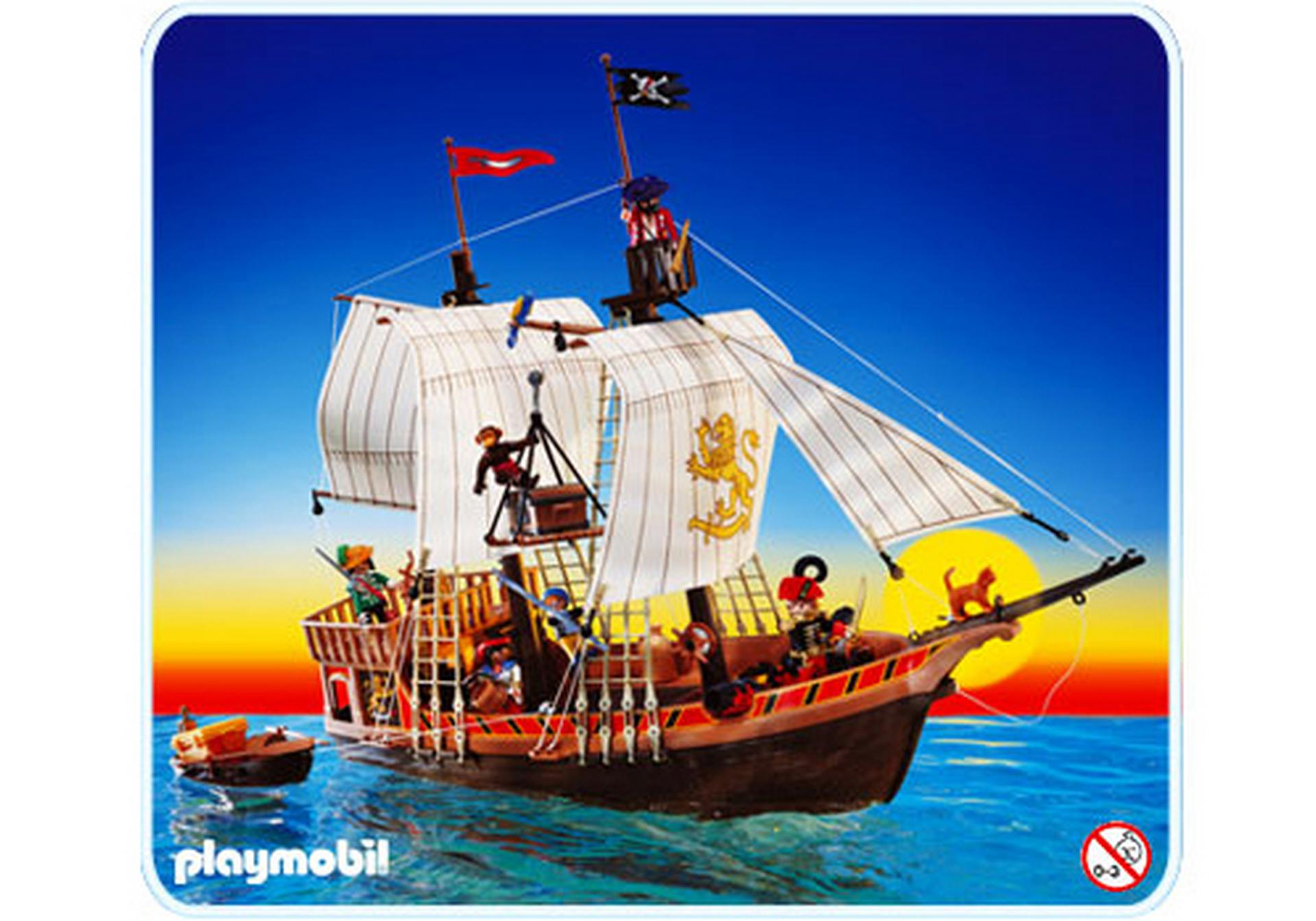 bateau pirate 3750 a playmobil france. Black Bedroom Furniture Sets. Home Design Ideas