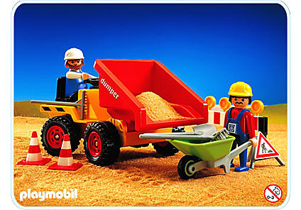 3756-A Tracteur DUMPER detail image 1