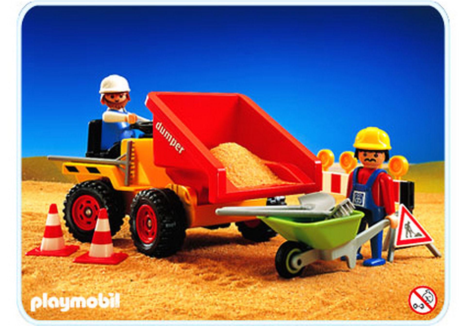 3756-A Tracteur DUMPER zoom image1