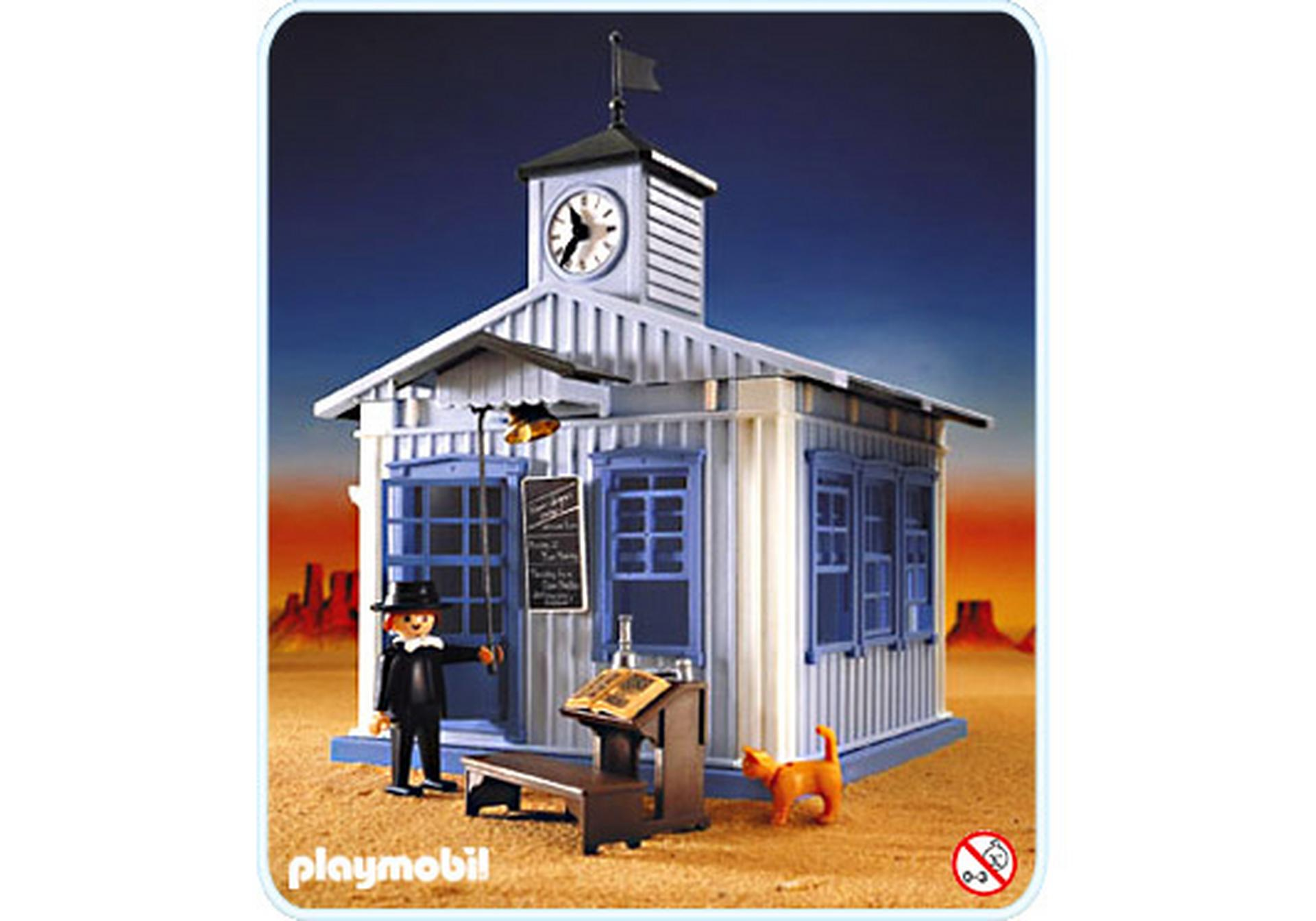 ecole far west 3767 a playmobil france. Black Bedroom Furniture Sets. Home Design Ideas