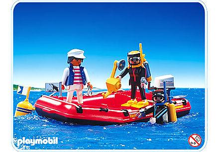 3772-A Canot / Plongeurs detail image 1