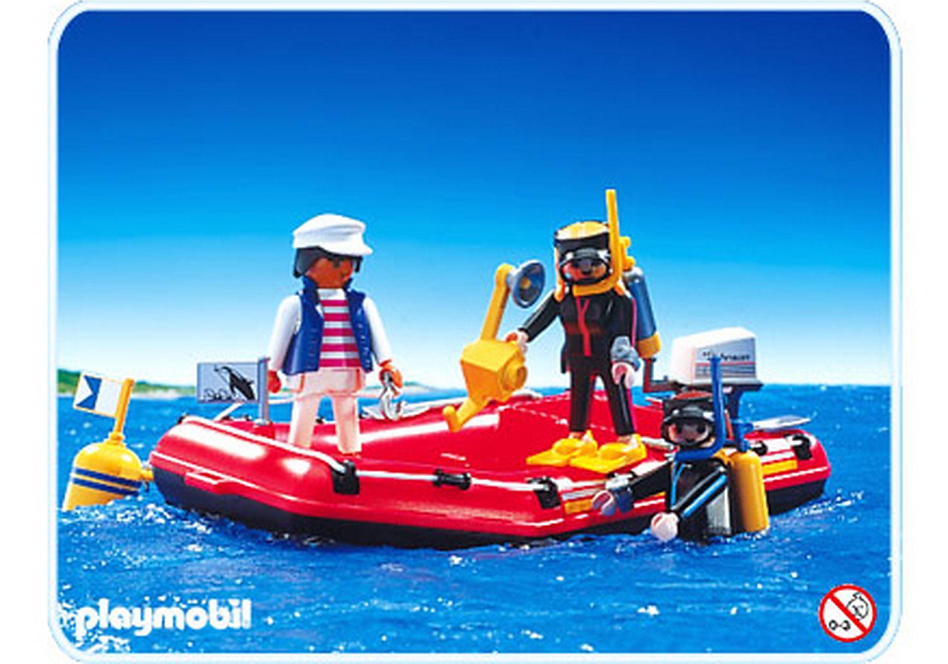 3772-A Canot / Plongeurs zoom image1