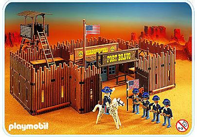3773-A Fort Bravo detail image 1