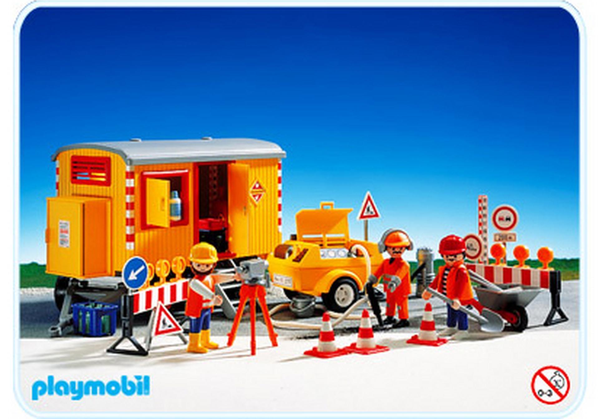 Bauwagen kompressor 3777 a playmobil deutschland for Jugendzimmer playmobil