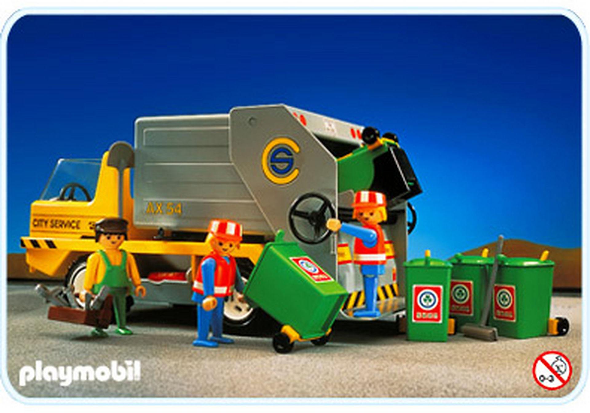 3780-A Camion ordures ménagères zoom image1