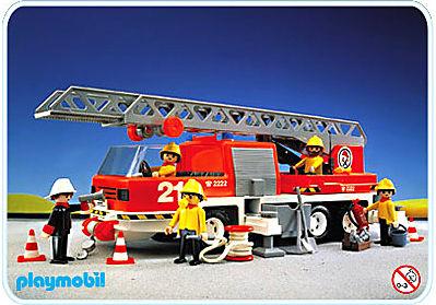 3781-A Feuerwehr-Leiterfahrzeug detail image 1