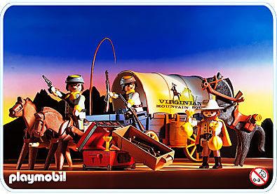 3785-A Chariot / soldats sudistes detail image 1