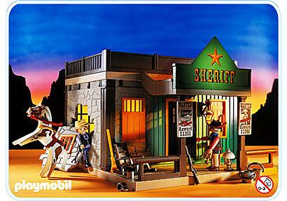 3786-A Bureau de shérif detail image 1