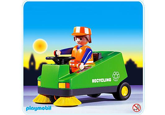 3790-A Eboueur / véhicule de nettoyage detail image 1