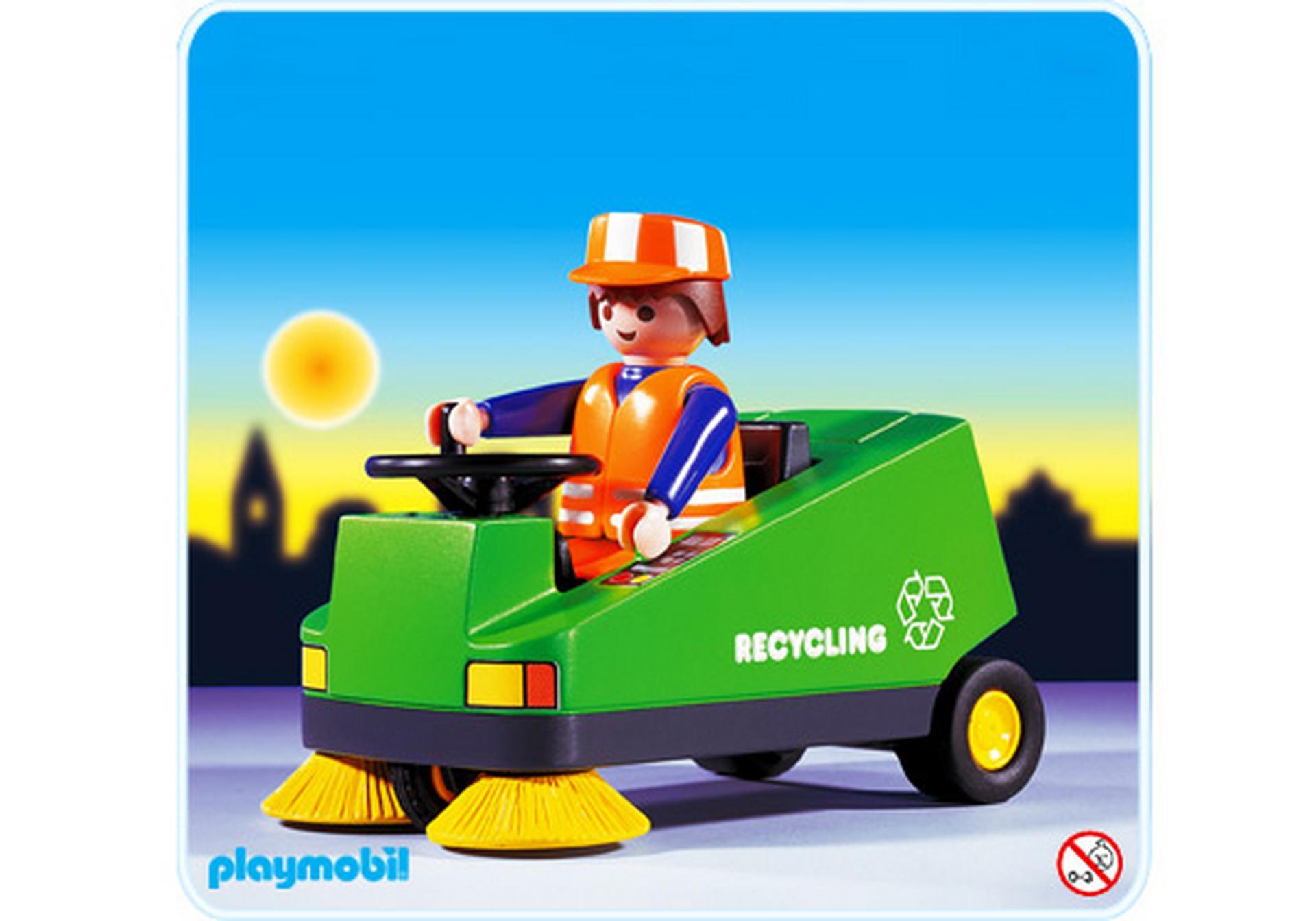 Kehrmaschine 3790 a playmobil deutschland for Jugendzimmer playmobil