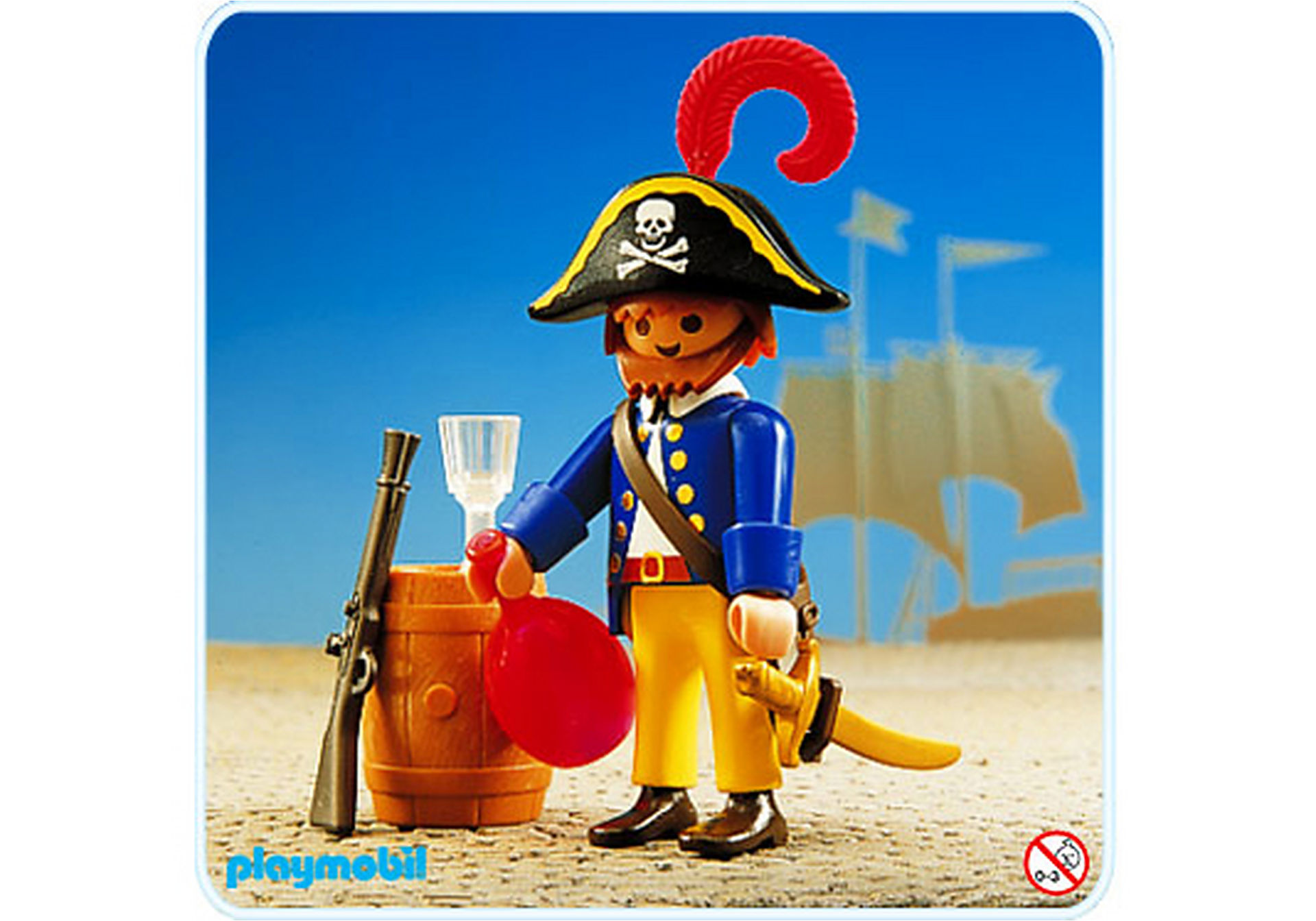 3791-A Pirat/Rumfass zoom image1