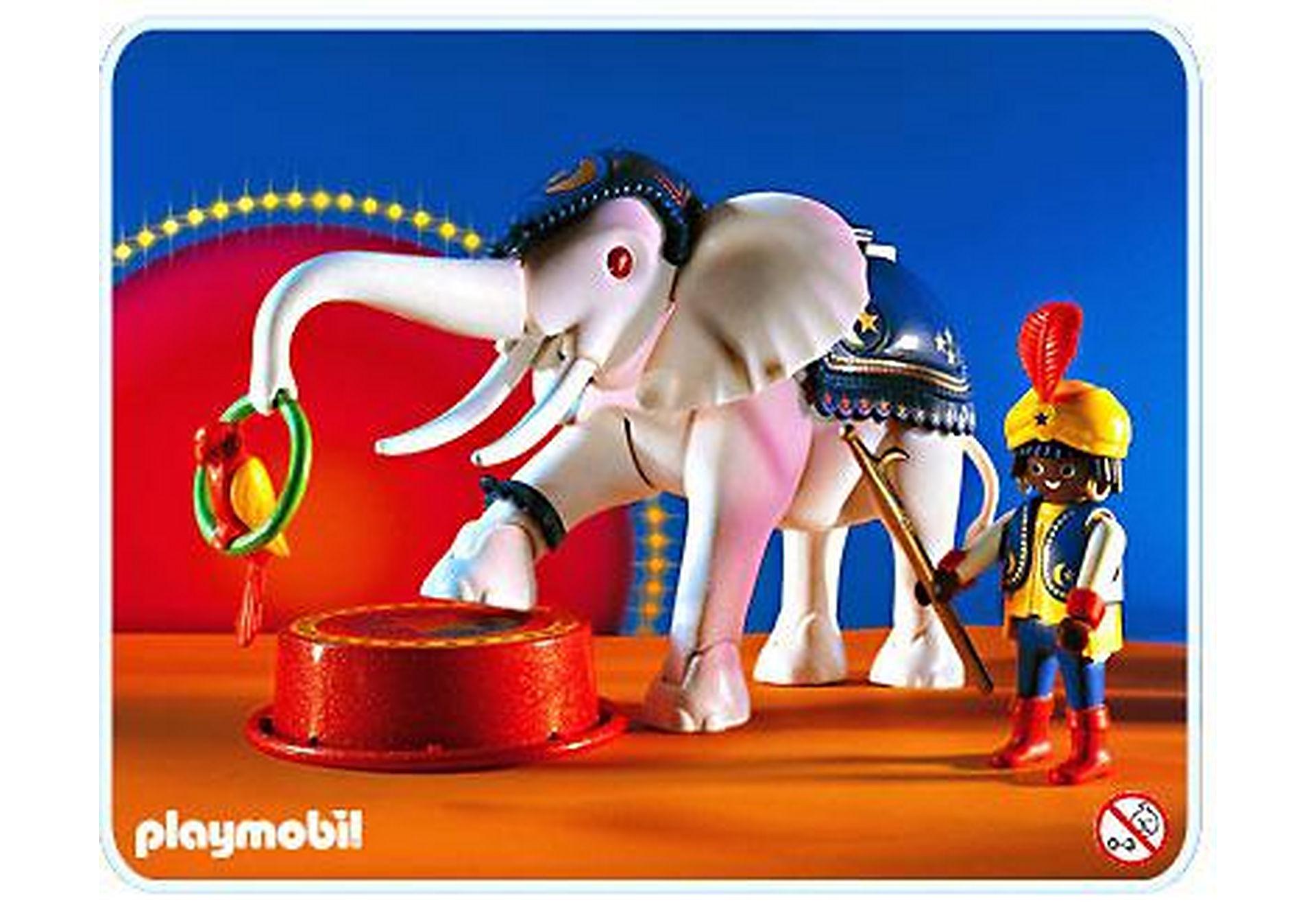 3809-A Dresseur d`éléphant blanc zoom image1