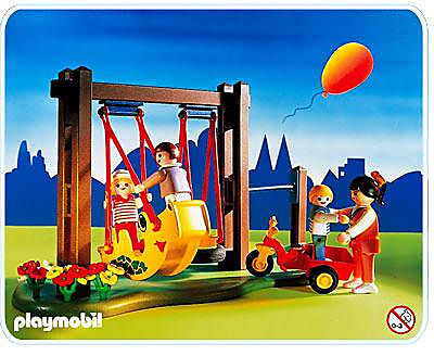http://media.playmobil.com/i/playmobil/3821-A_product_detail/3 enfants / maman / balançoire