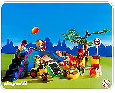 3822-A Kinderspielplatz detail image 1