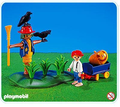 http://media.playmobil.com/i/playmobil/3823-A_product_detail/Enfant / épouvantail