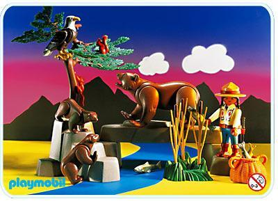 http://media.playmobil.com/i/playmobil/3830-A_product_detail/Indienne / Animaux sauvages