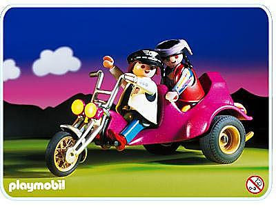 3832-A Motorrad-Trike detail image 1
