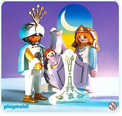 3835-A famille du sultan detail image 1