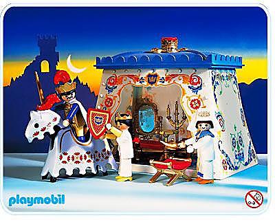 3837-A Roi / tente meublée detail image 1