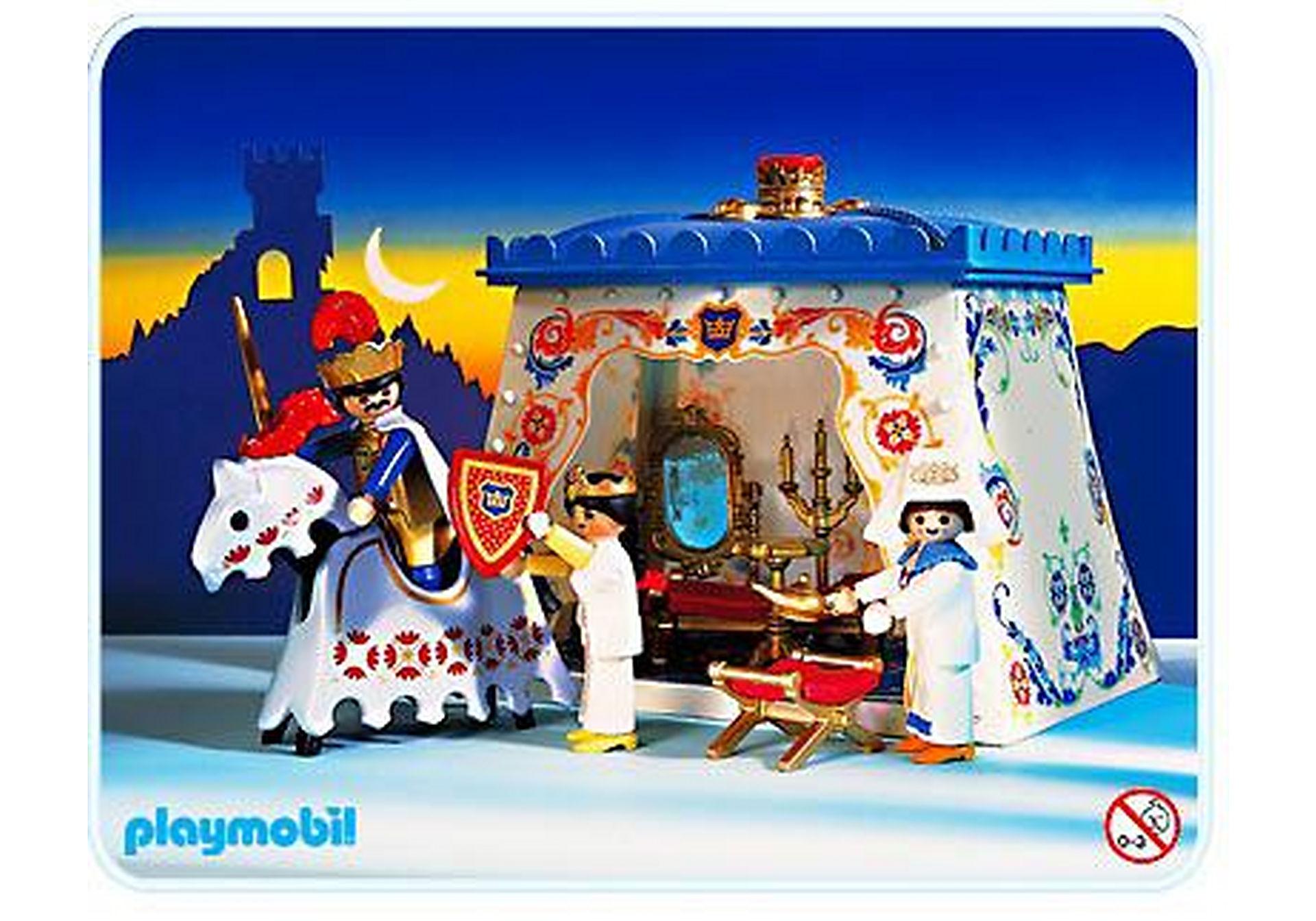 3837-A Roi / tente meublée zoom image1