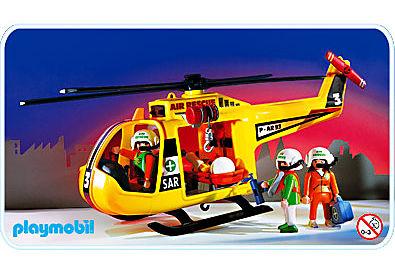 3845-A Rettungshubschrauber detail image 1