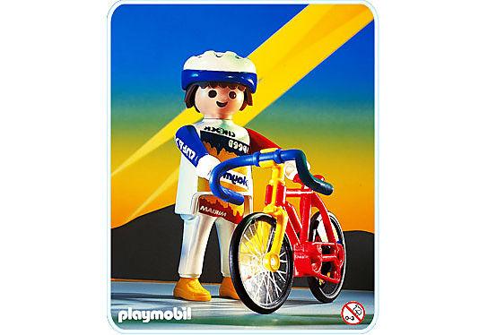 3846-A Coureur cycliste detail image 1