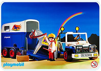 3851-A Pferdetransporter detail image 1