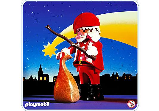 3852-A Père Noël detail image 1