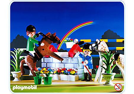 3854-A Cavaliers / concours hippique detail image 1
