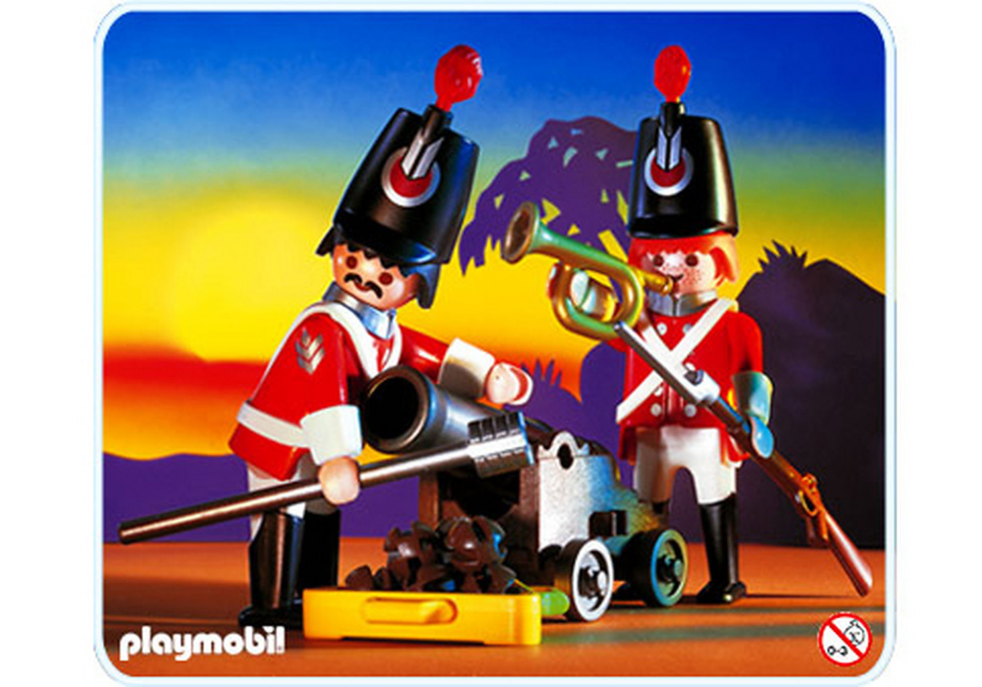 3857-A Soldats du roi / canon zoom image1