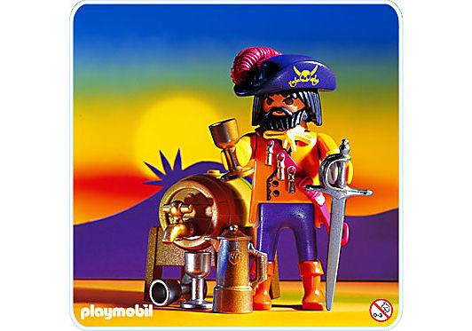 3863-A Capitaine des pirates detail image 1