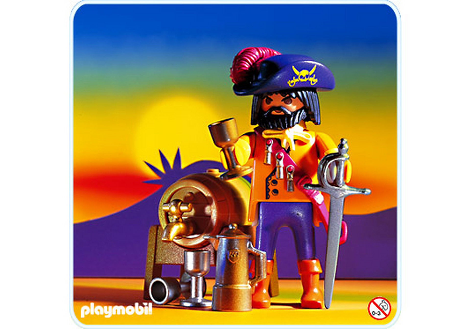 3863-A Capitaine des pirates zoom image1