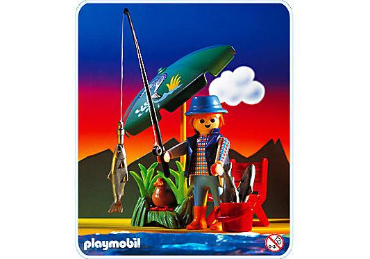 3864-A Pêcheur / parasol detail image 1