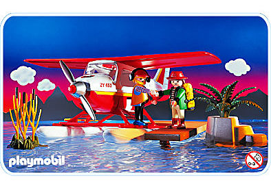 3866-A Wasserflugzeug detail image 1