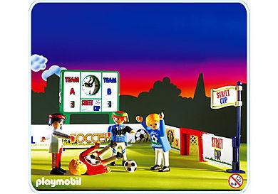 3868-A Footballeurs / but