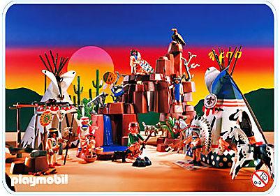 3870-A Indianerdorf detail image 1