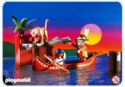 http://media.playmobil.com/i/playmobil/3875-A_product_detail/Indien / Trappeur / Canoë