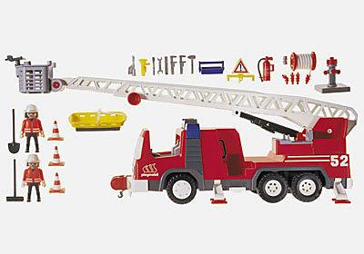 3879-A Feuerwehrleiterfahrzeug detail image 2