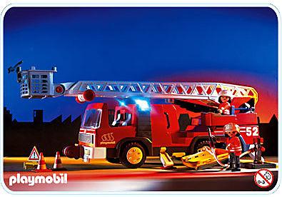 3879-A Feuerwehrleiterfahrzeug detail image 1