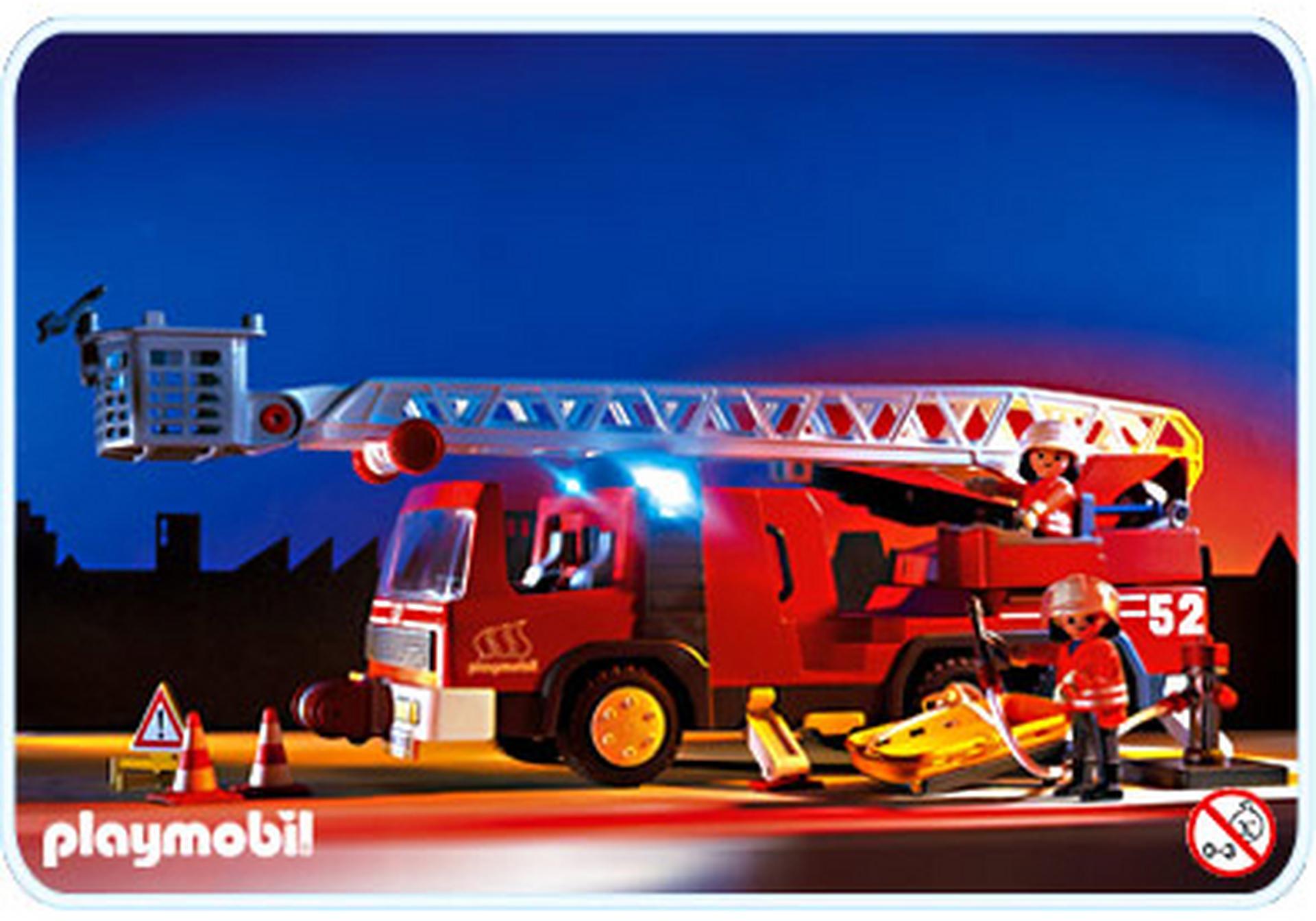 Feuerwehrleiterfahrzeug 3879 a playmobil deutschland for Jugendzimmer playmobil