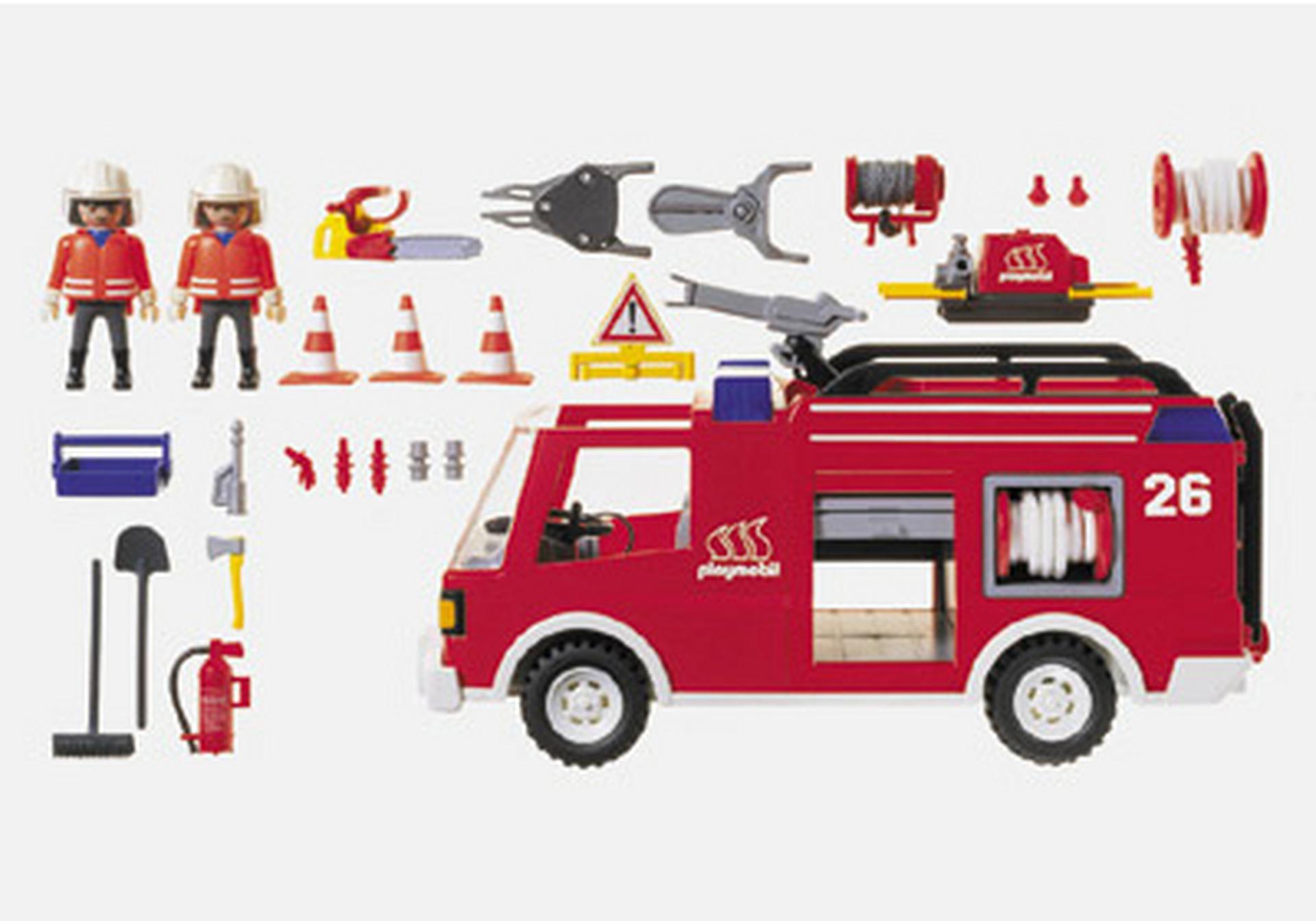 pompiers camion lance eau 3880 a playmobil france. Black Bedroom Furniture Sets. Home Design Ideas