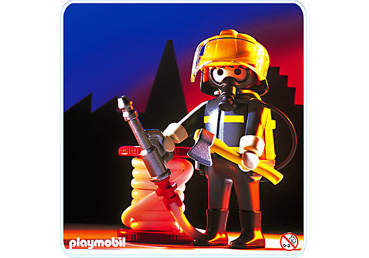 3882-A Feuerwehrmann detail image 1