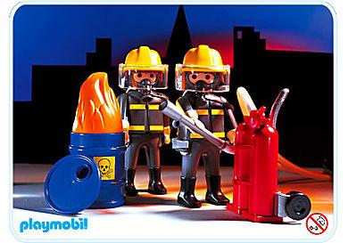 3883-A Pompiers / unité spéciale