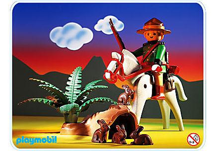 3884-A Park-Police/Pferd detail image 1