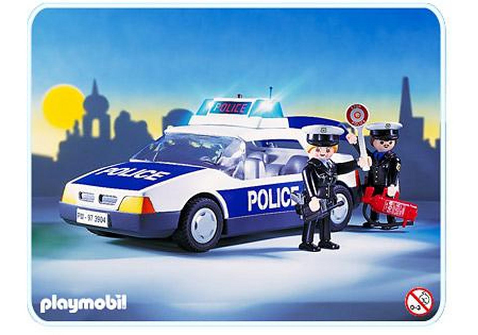 policiers voiture de police 3904 a playmobil france. Black Bedroom Furniture Sets. Home Design Ideas