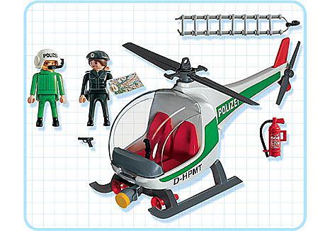 3907-A Polizeihubschrauber D detail image 2