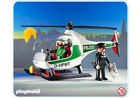 3907-A Polizeihubschrauber D detail image 1